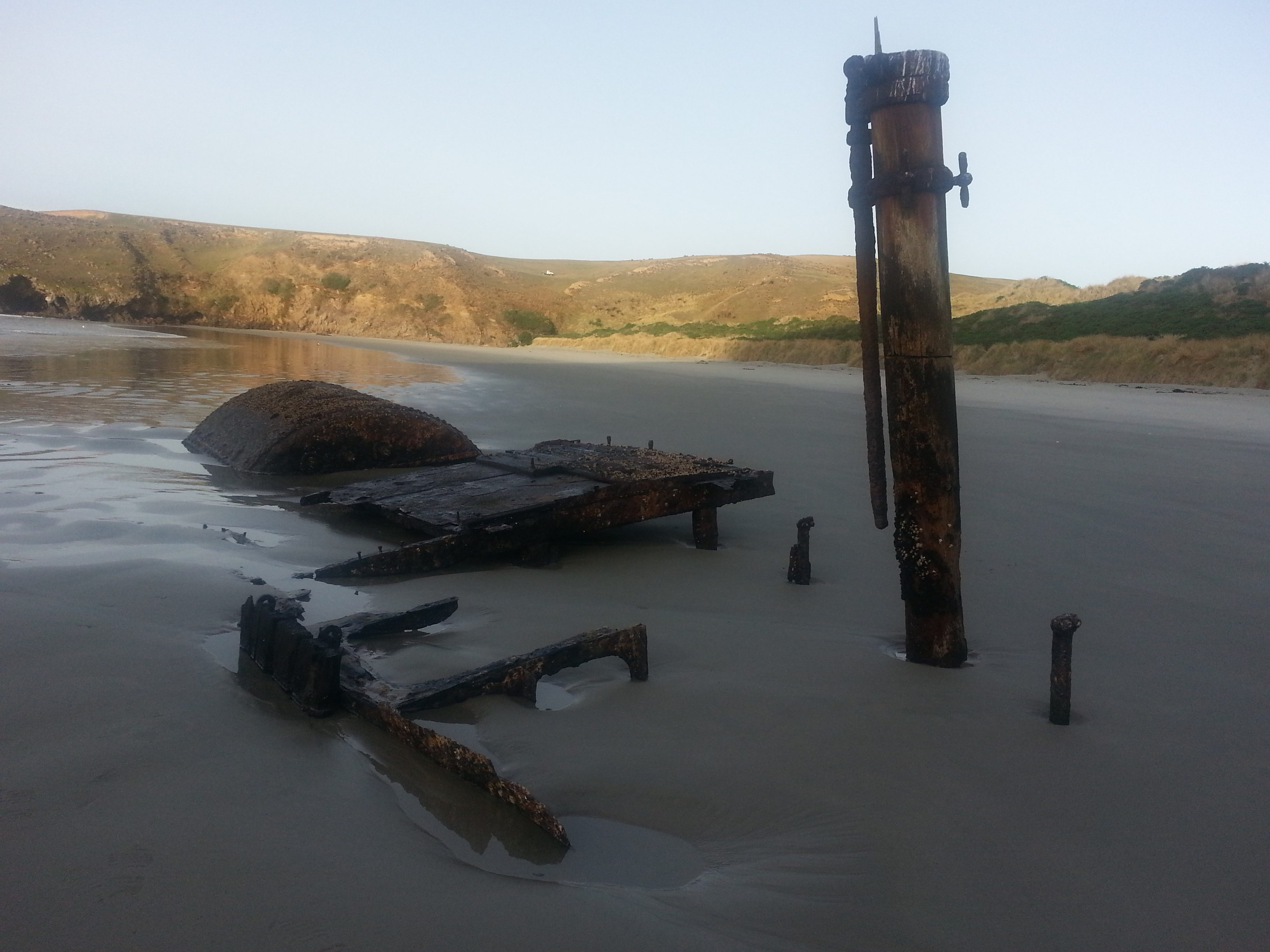 The Wreck of the Hananui II