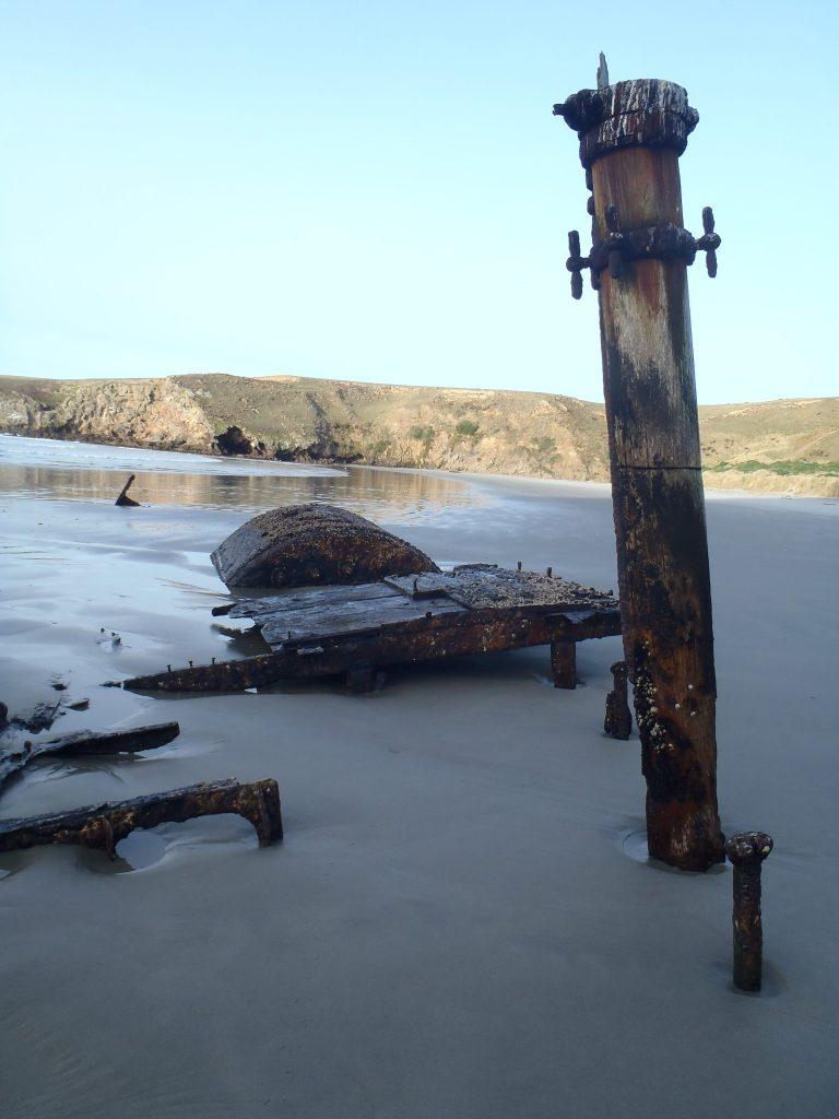 Wreck of the Hananui II