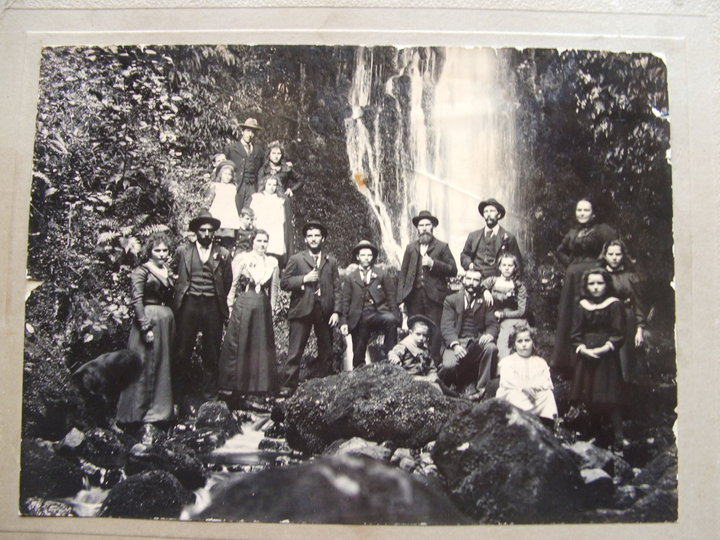 Finnerty Family Nicols Falls 1890s
