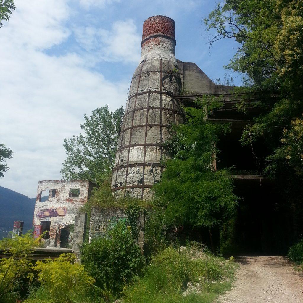 Ruined furnace of Calde