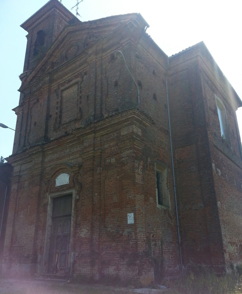 Abandoned church of Leri Cavour