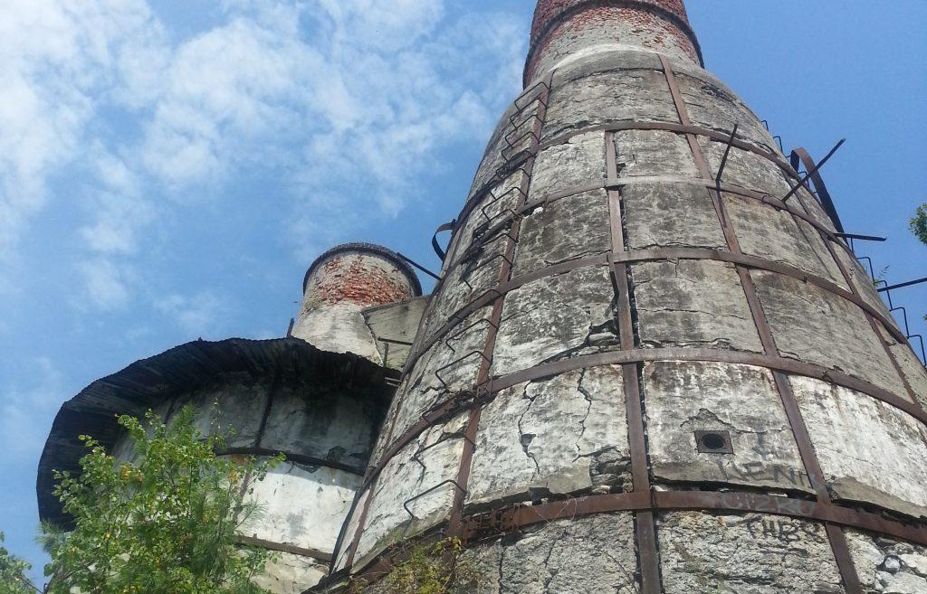 Furnace chimneys