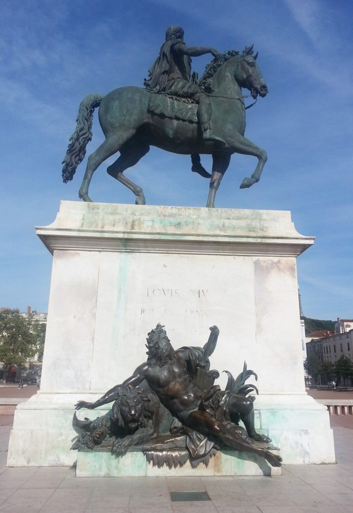 Statue of Louis XIV in Place Bellecour