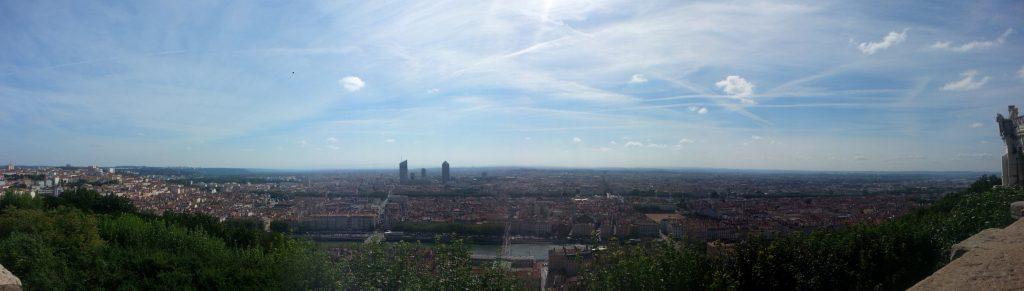 Panorama over Lyon