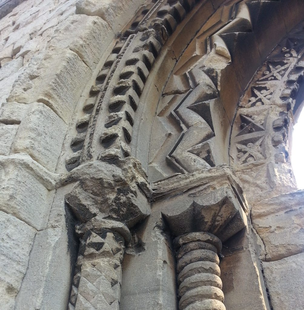 Detail of Old St James Church