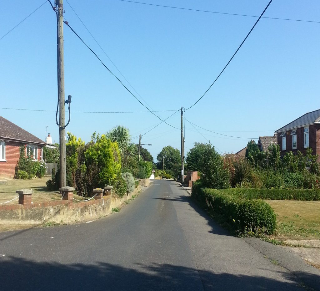 Street in the Hamlet of Ashley