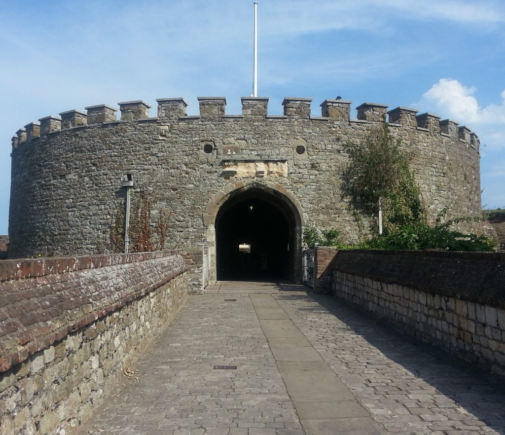 Entrance to Deal Castle