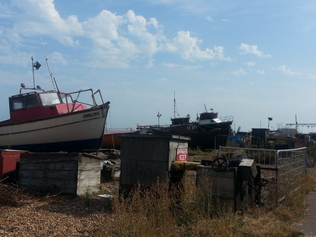 Deal's fishing fleet
