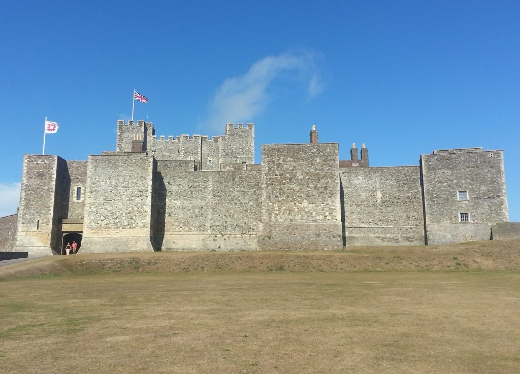 Approaching Dover Castle