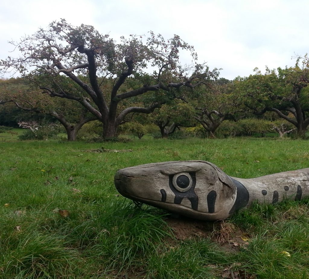 Serpent in No Man's Orchard