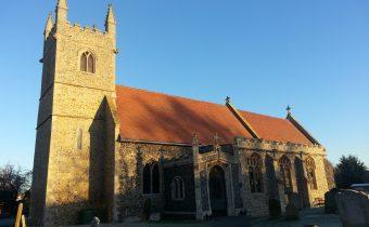 Finding Nunns in Fornham All Saints