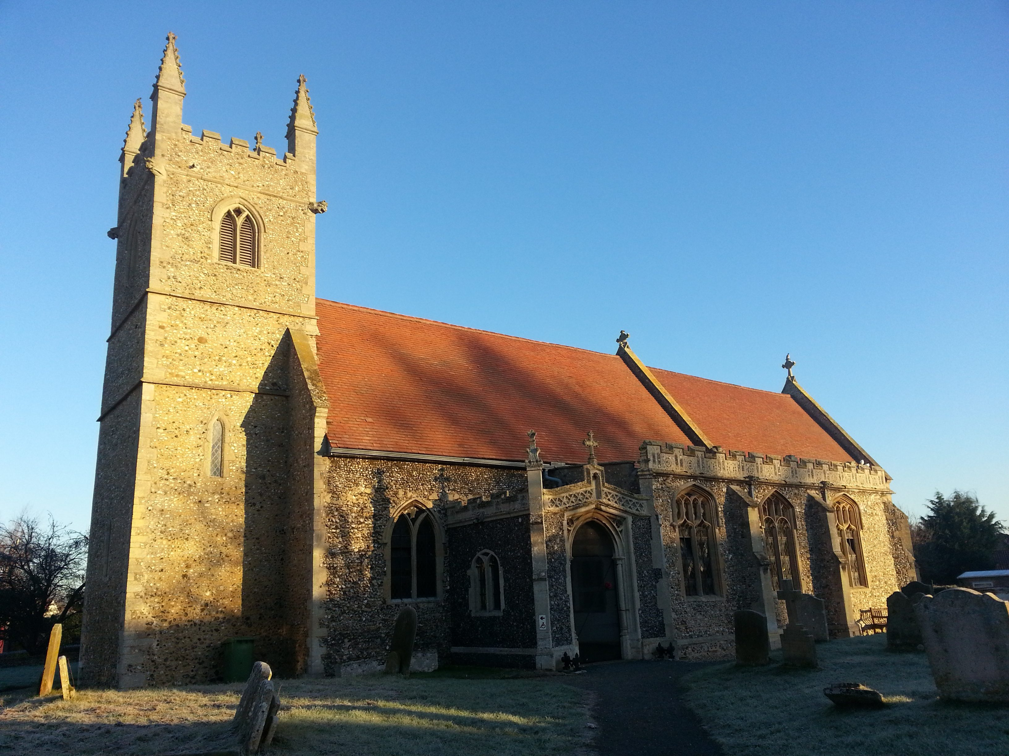 Finding Nunns in Fornham All Saints