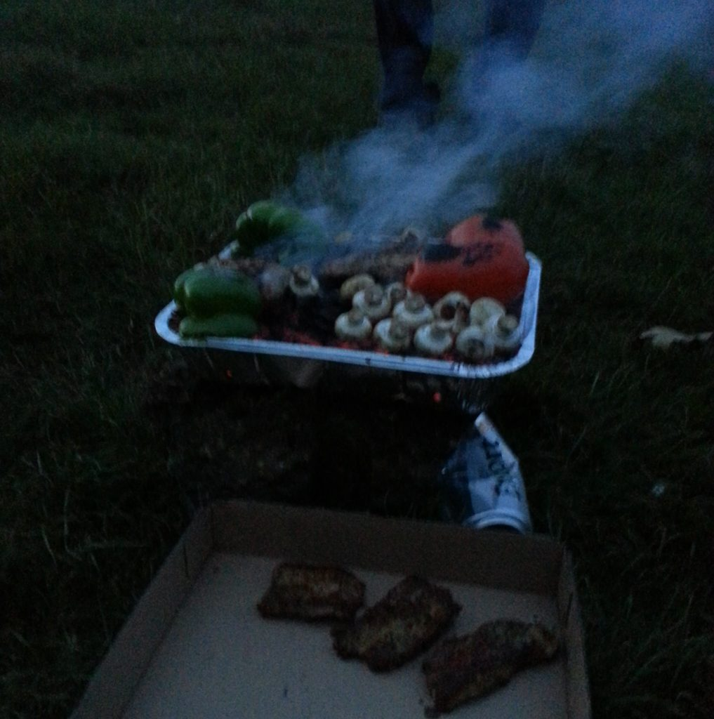 Barbecue (complete with beer can stabiliser)