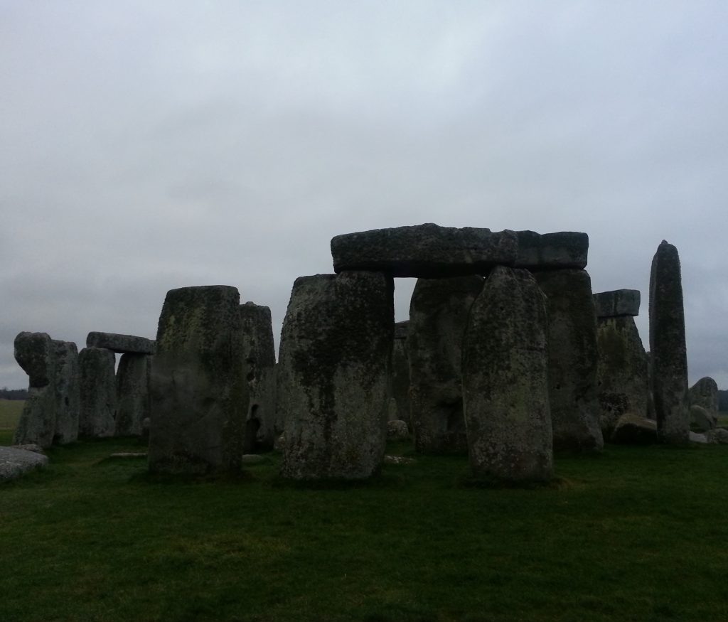 First glimpse of the stones