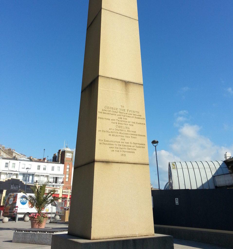 George IV's obelisk