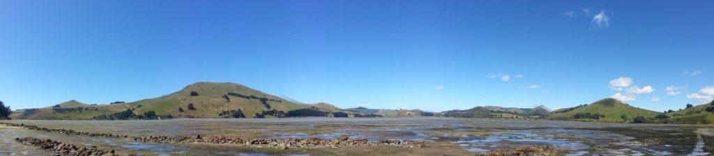 Papanui Inlet panorama