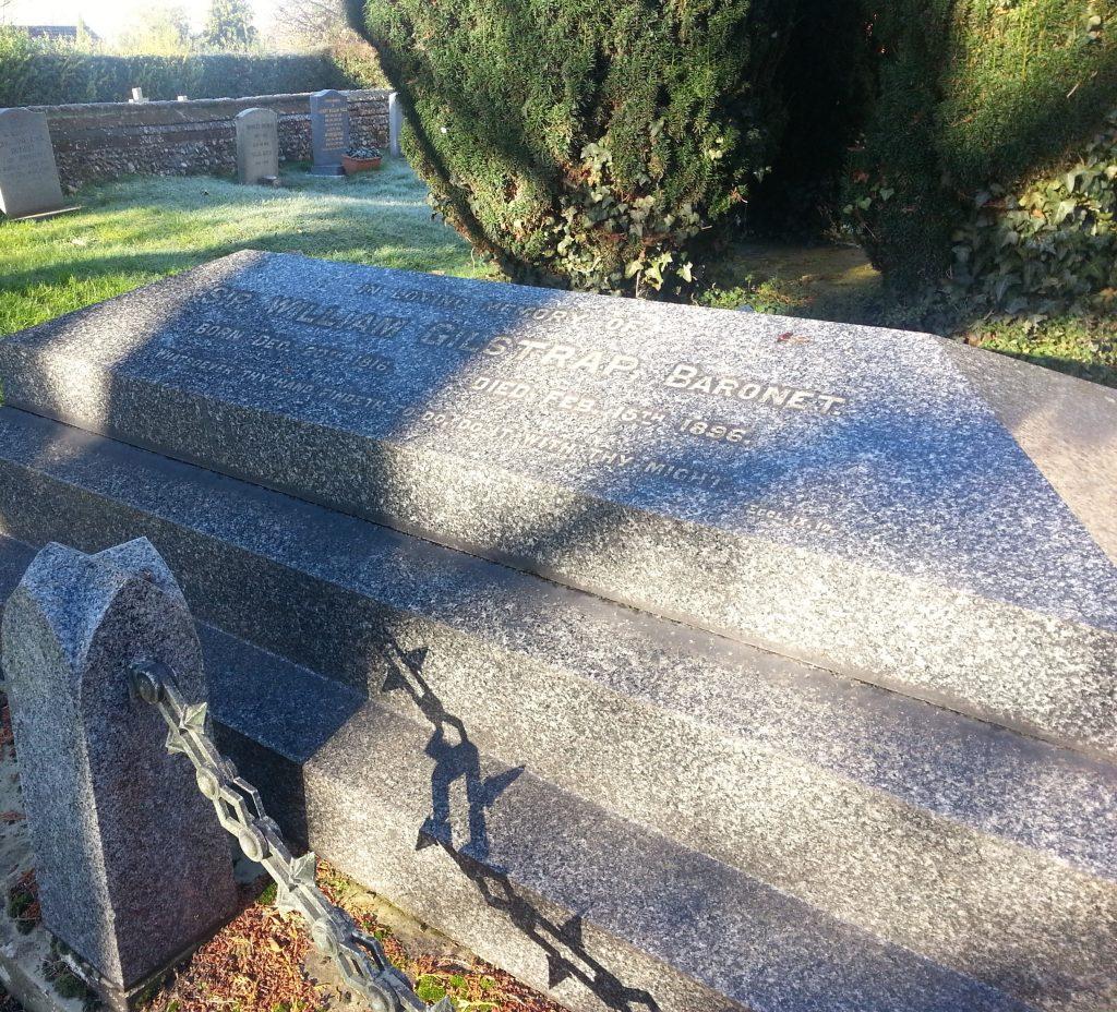 Sir William's tomb