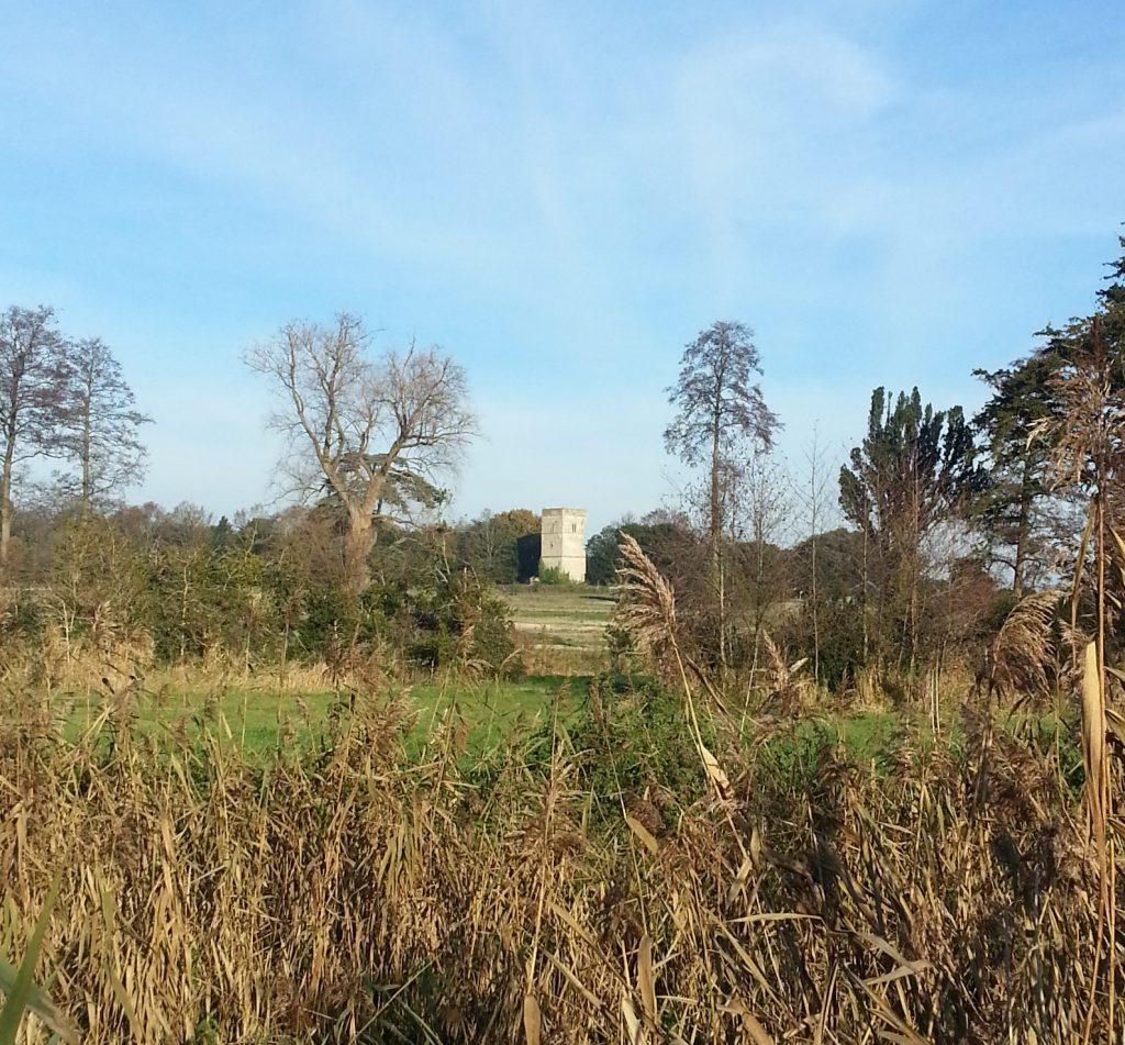 Fornham St Genevieve church tower