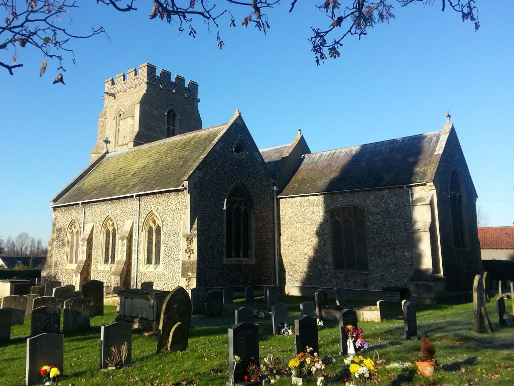 Fornham St Martin Church