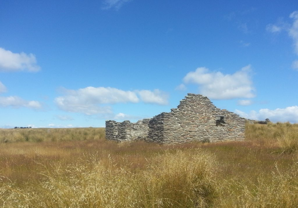 Ruined building at Nenthorn