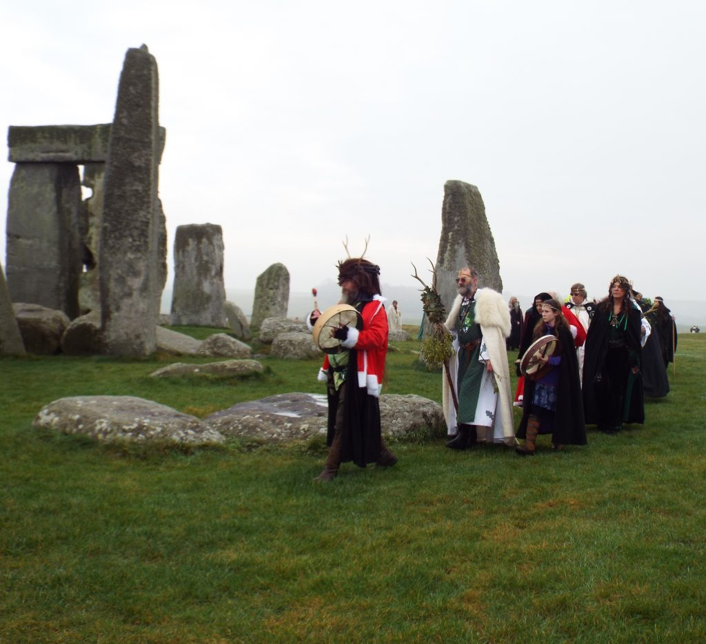 The Dorset druids approach