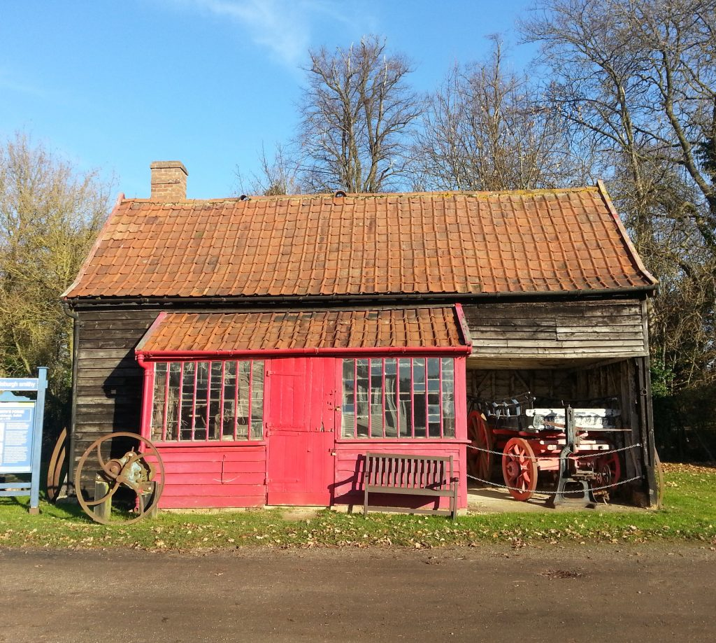 Grundisburgh blacksmith forge