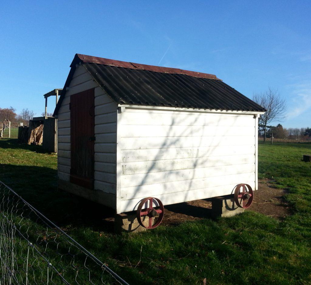 Mobile shepherd's hut