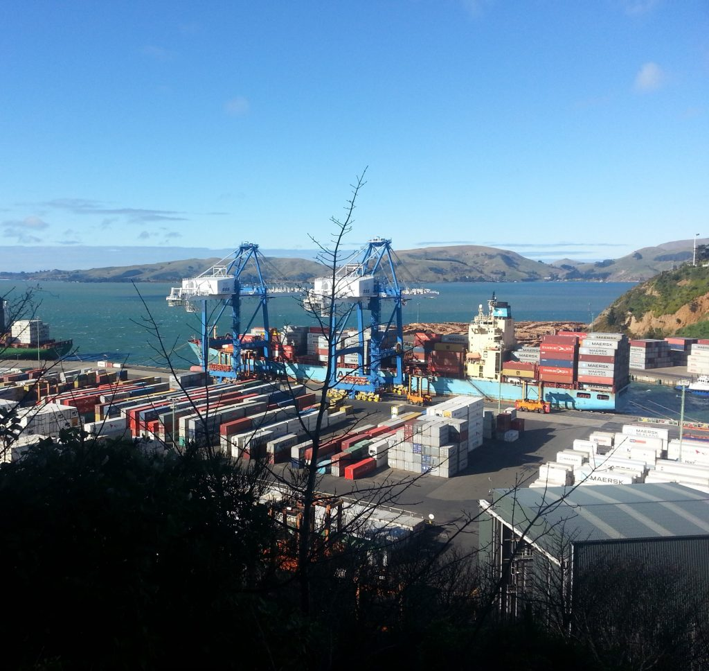 Port Chalmers!