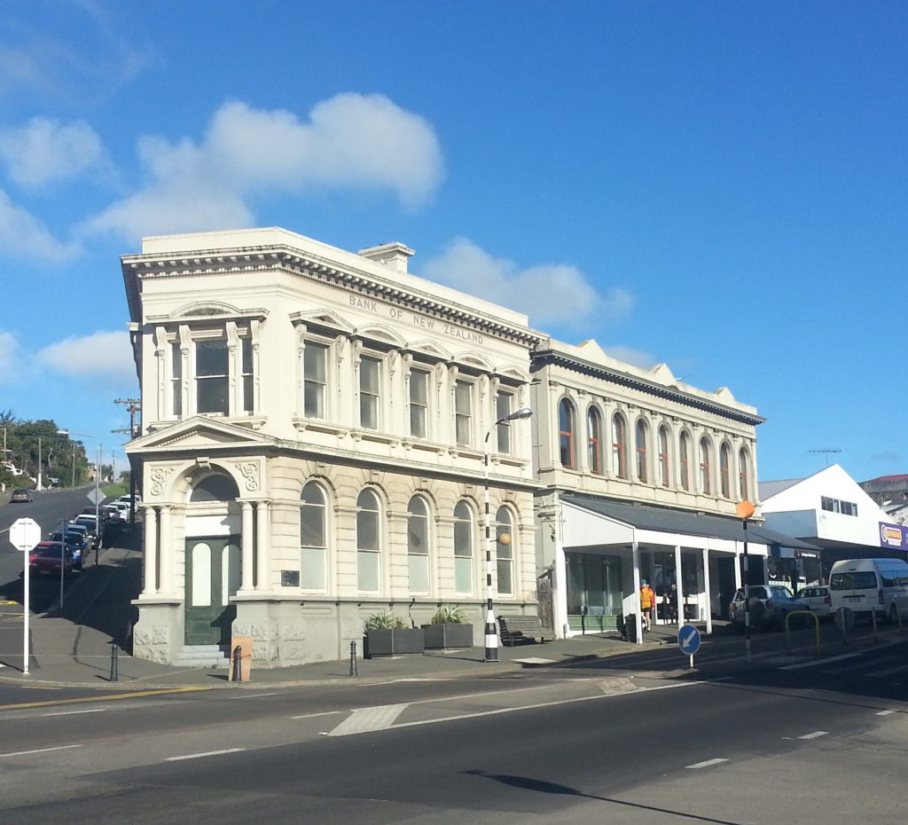 Bank of New Zealand Building, Port Chalmers