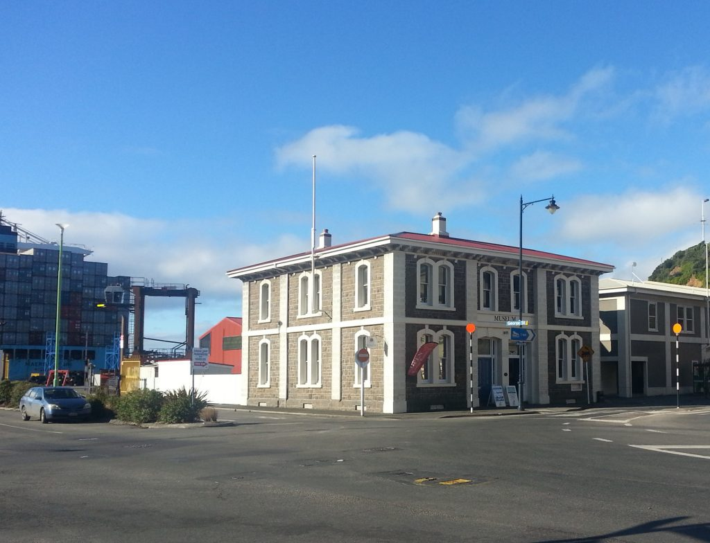 Former post office, now museum, Port Chalmers