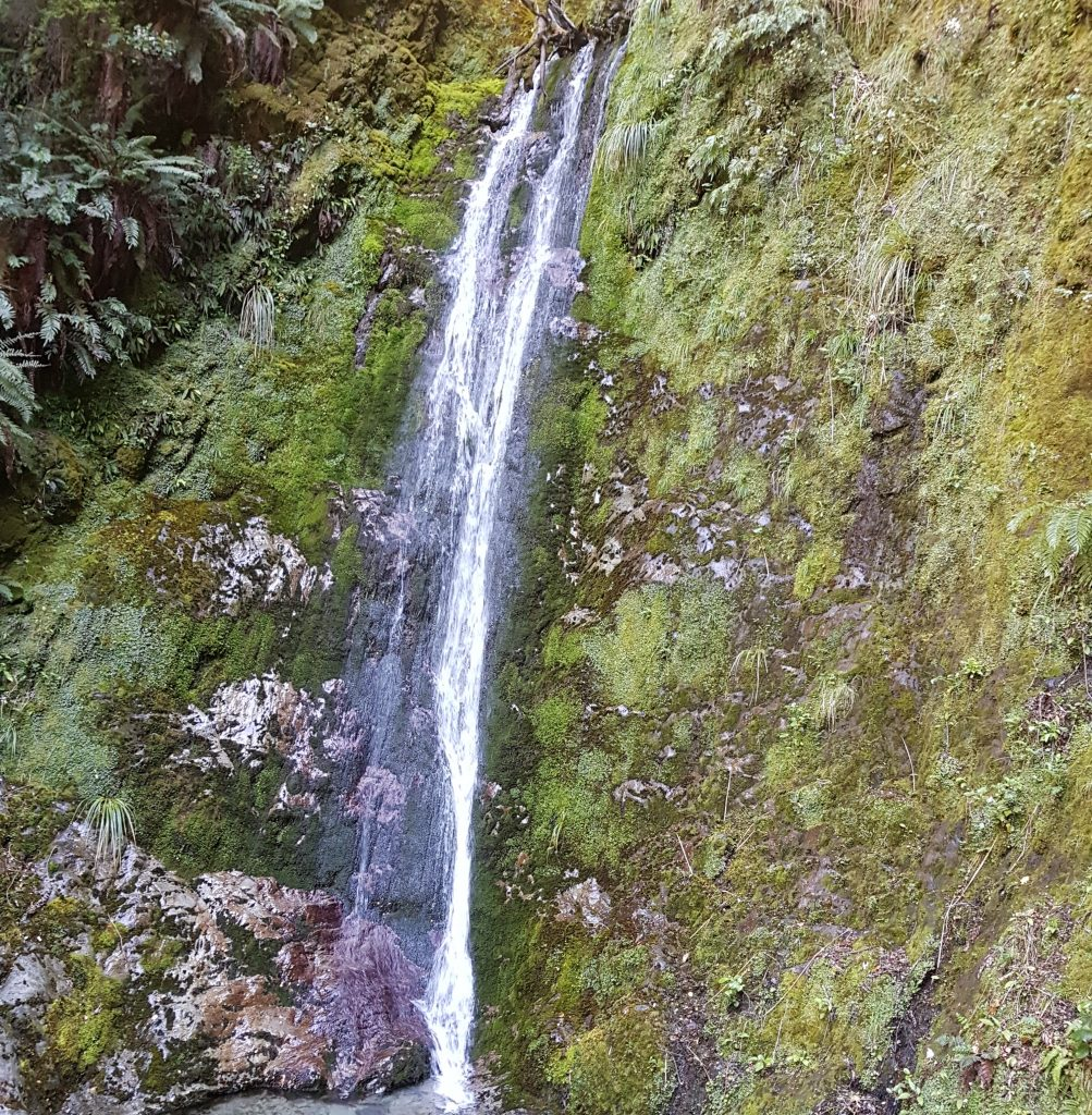 Waterfall on Greenstone track