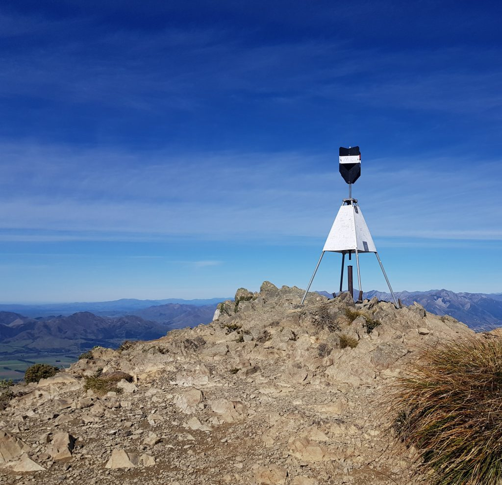Summit of Mt Isobel