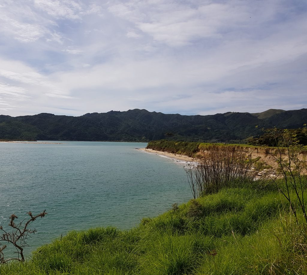 Entrance to Wainui Inlet