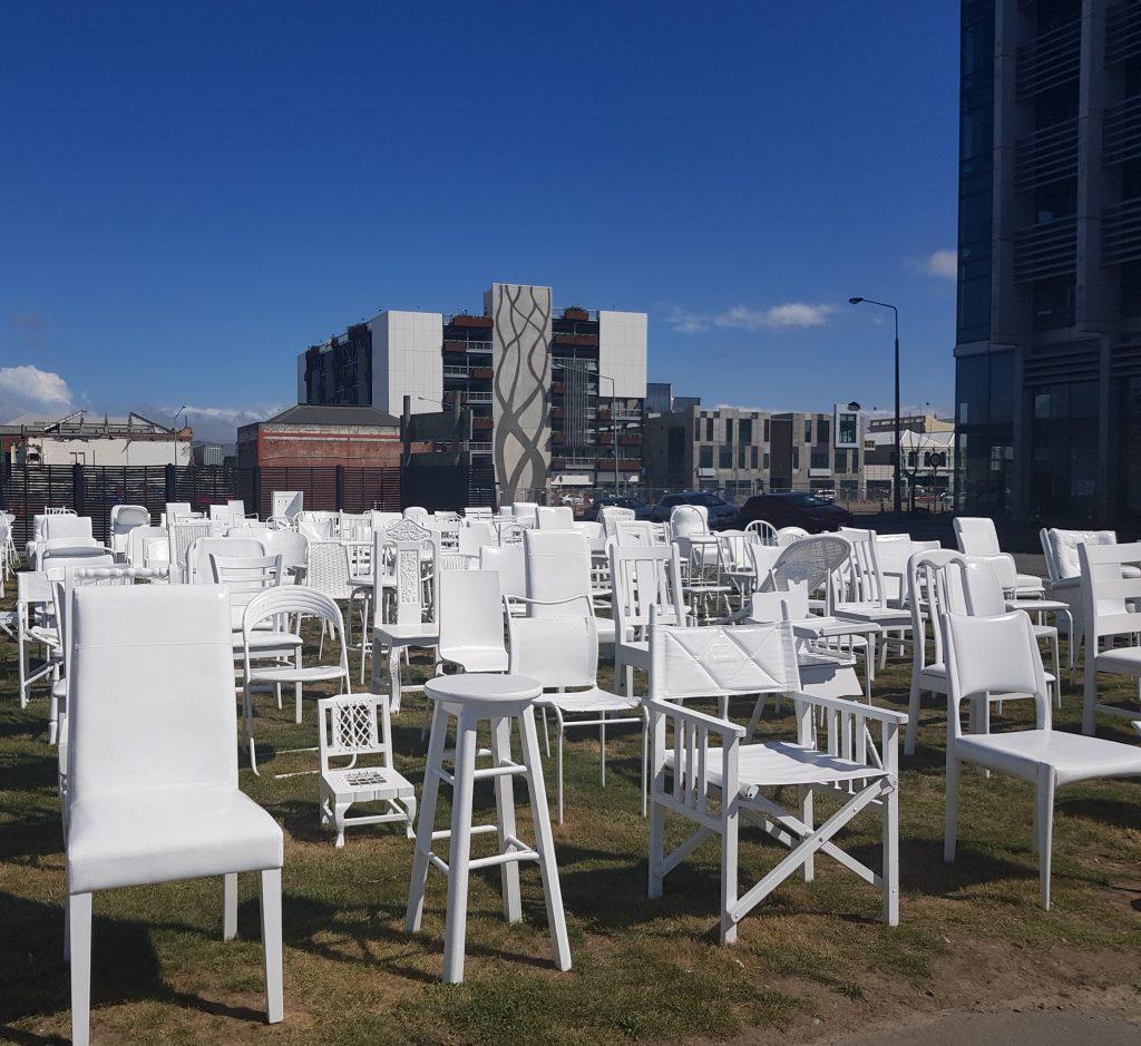 Christchurch earthquake memorial art installation