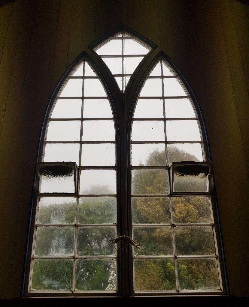 Pukehiki Church window