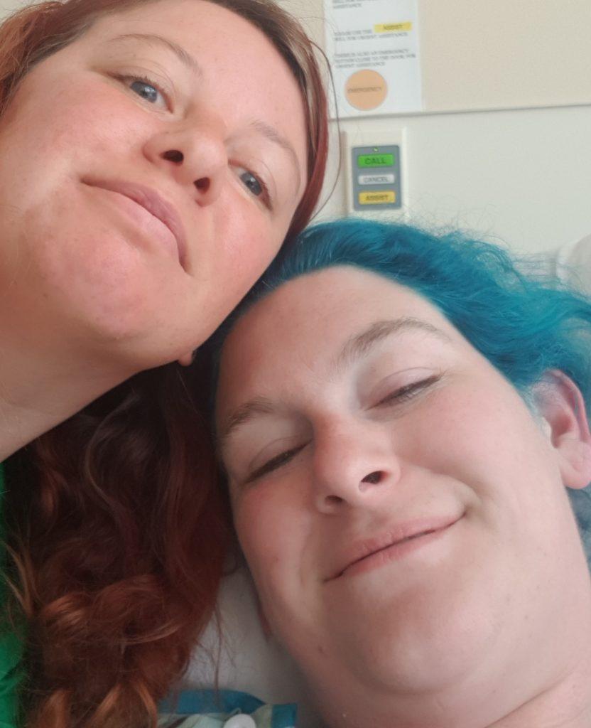 Auckland hospital selfie