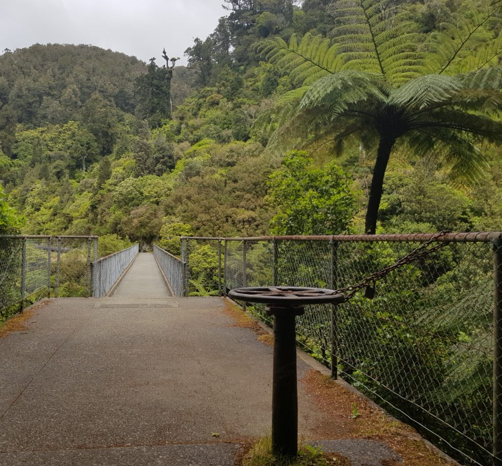 Flume Bridge at Pakuratahi