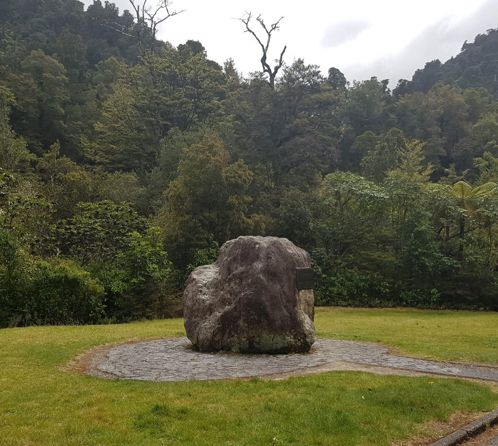 Rock at Pakuratahi Forks
