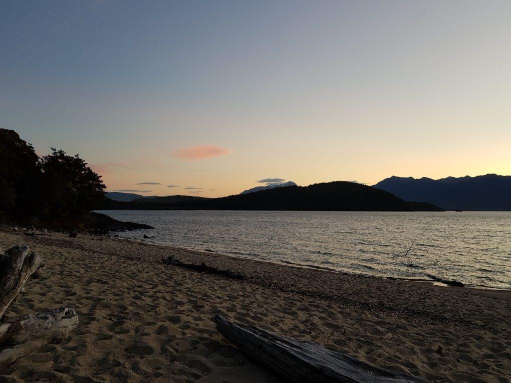 Shallow Bay at dusk