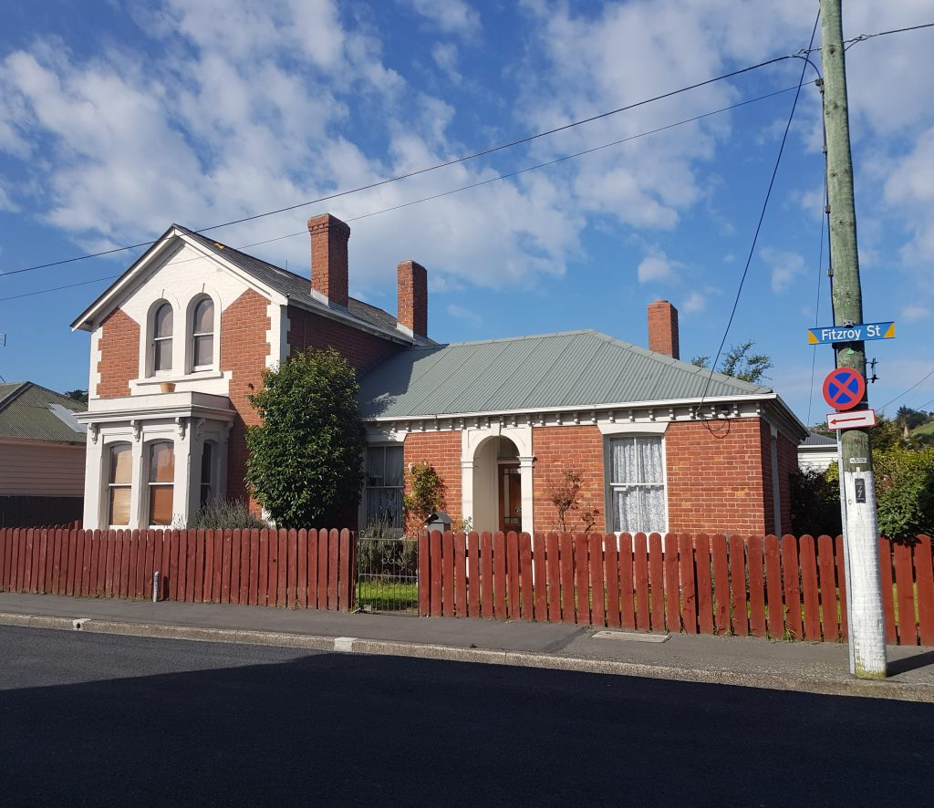 Historic home on Fitzroy Street