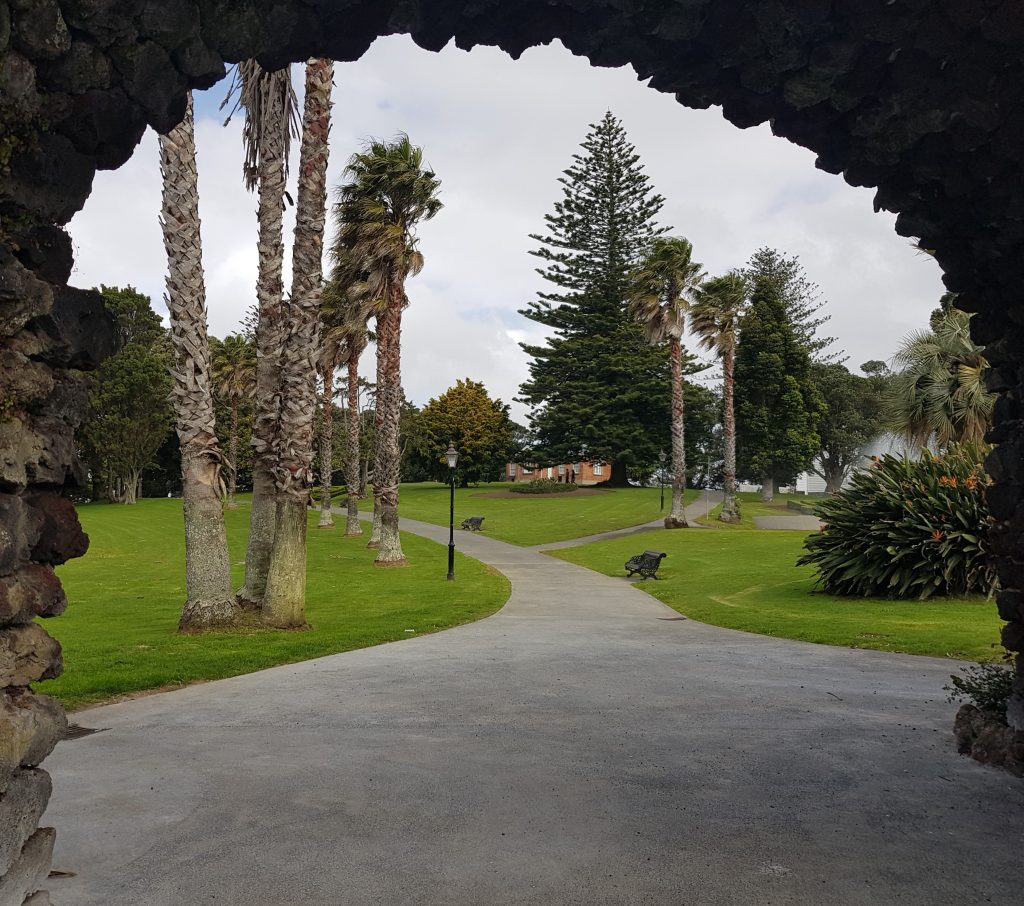 Entering Jellicoe Public Park