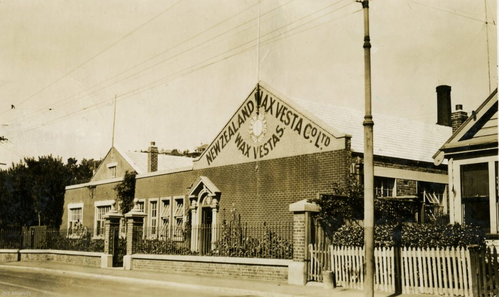 Wax Vesta Factory c1951