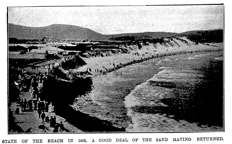 St Clair Beach in 1902