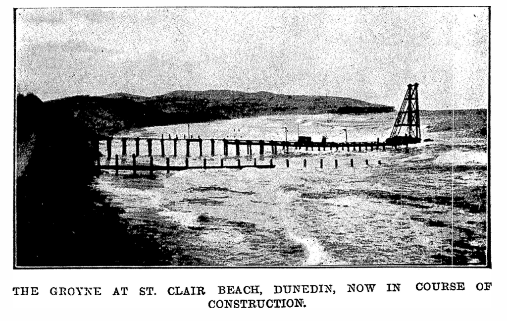 1920 groyne construction