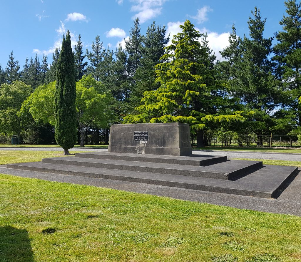Featherston WWI camp memorial
