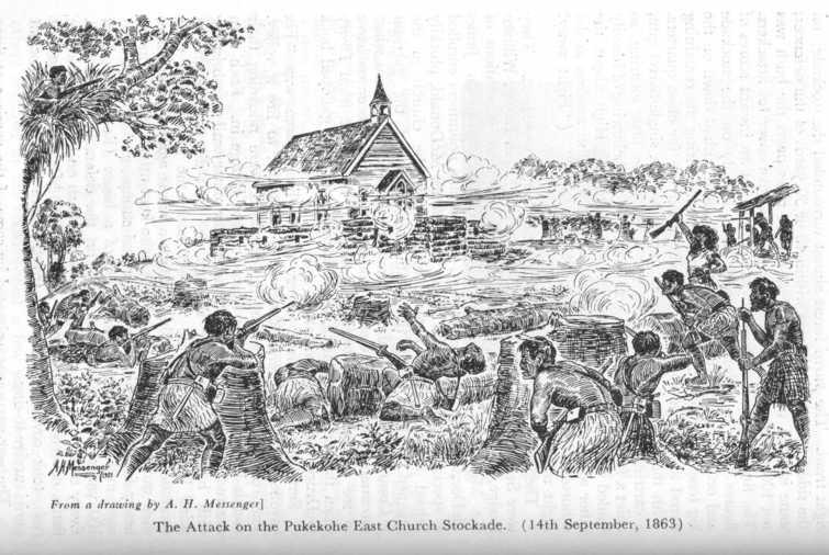 Battle for East Pukekohe Church