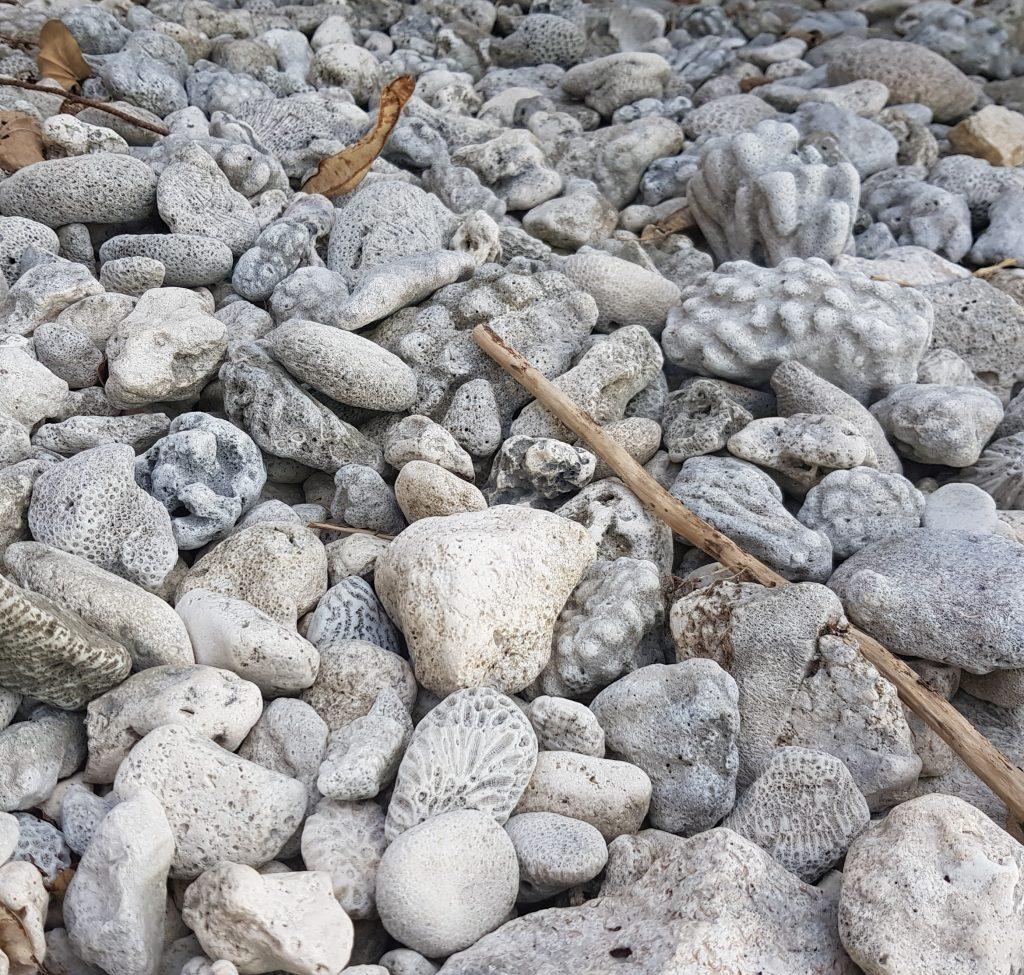 Stones at Avatele Beach