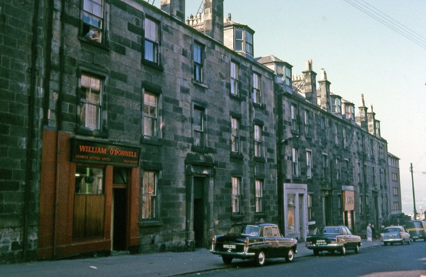 Ann Street, Greenock in the 1960s, showing the sort of housing the McCulloch family may have occupied. Image source: Inverclyde Council/McLean Museum