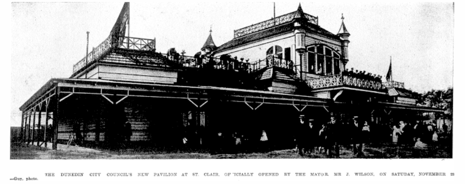 The Pavilion, St Clair