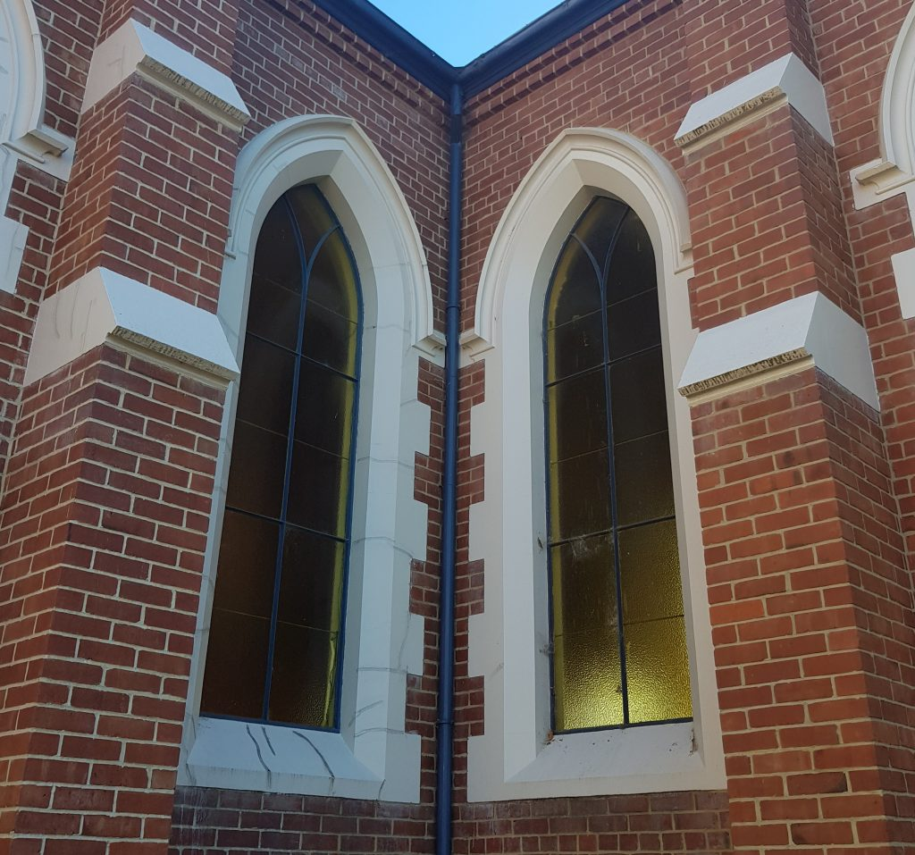 Detail of Highgate Presbyterian Church